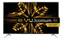 VU (49) 124 cm Iconium UHD 4K Smart TV 50BU116
